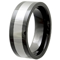 Tungsten Ceramic Band TCR-3059