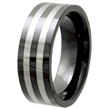 Tungsten Ceramic Band TCR-3081