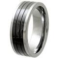 Tungsten Ceramic Band TCR-3084