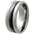 Tungsten Ceramic Band TCR-3085