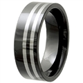 Tungsten Ceramic Band TCR-3087