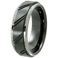 Tungsten Ceramic Band TCR-3091
