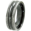 Tungsten Ceramic Band TCR-3096
