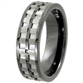 Tungsten Ceramic Band TCR-3099
