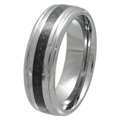 Tungsten Carbon Fiber band TFR-3026-BLK