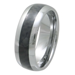 Tungsten Carbon Fiber band TFR-3056-BLK