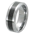 Tungsten Carbon Fiber band TFR-3060-BLK