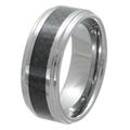 Tungsten Carbon Fiber band TFR-3076-BLK